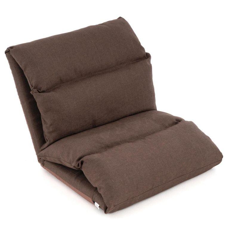 Nastavitelná sofa Relax Lounger, barva hnědá