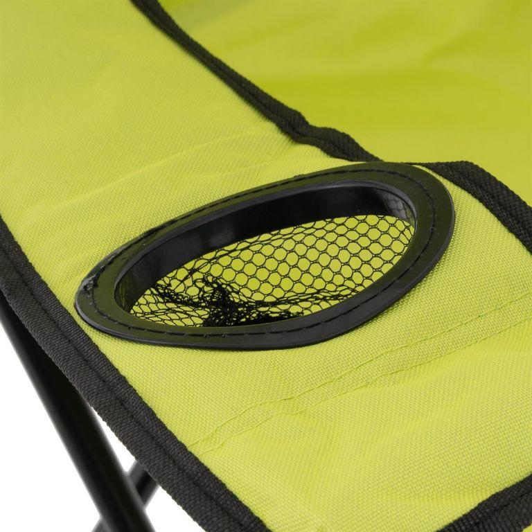Sada 2 ks skládacích židlí – světle zelené