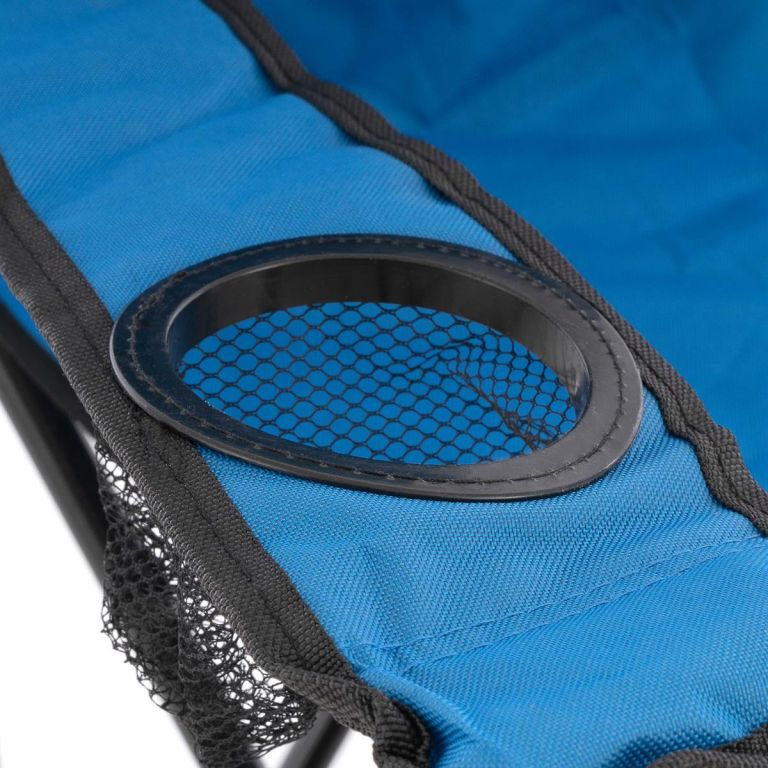 Sada 2 skládacích kempingových židlí – modré