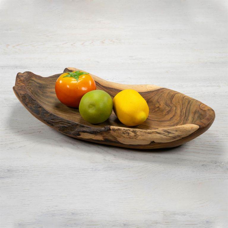 Dekorativní dřevěná miska