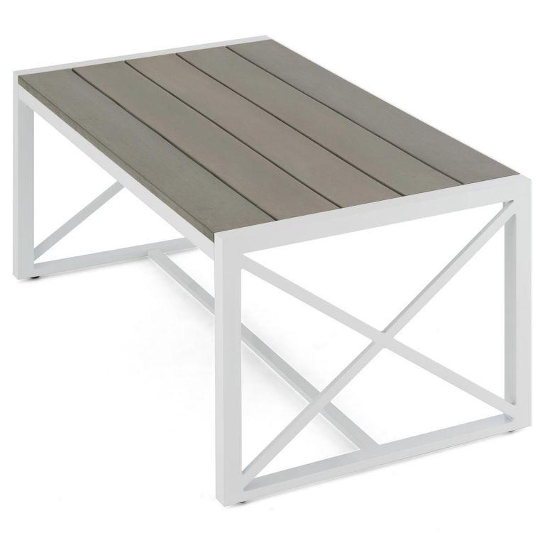 Zahradní hliníkový stůl – 160 x 92 x 73 cm