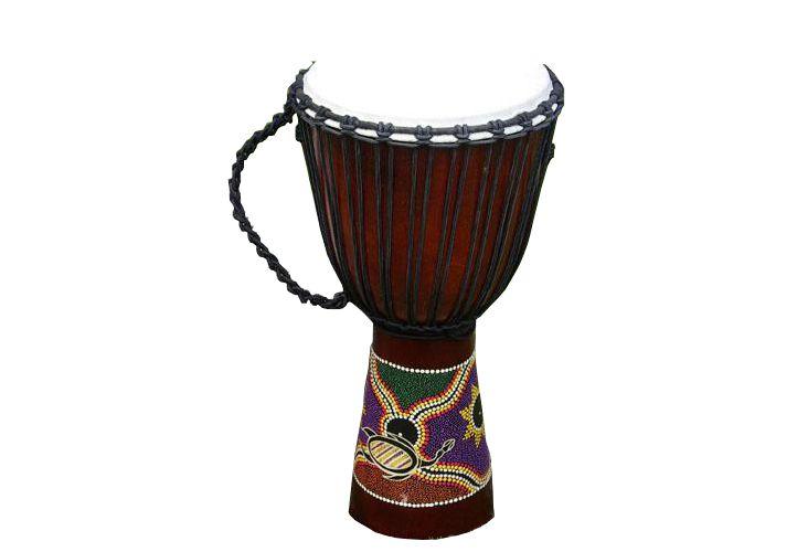 Africký buben Djembe - 70 cm - ručně malovaný