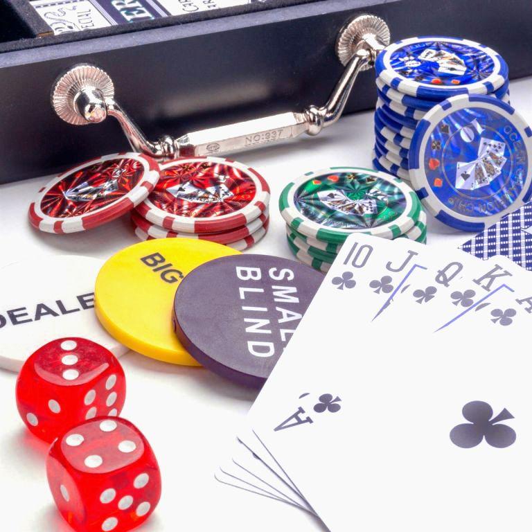 Pokerový set s kufříkem - 500 žetonů