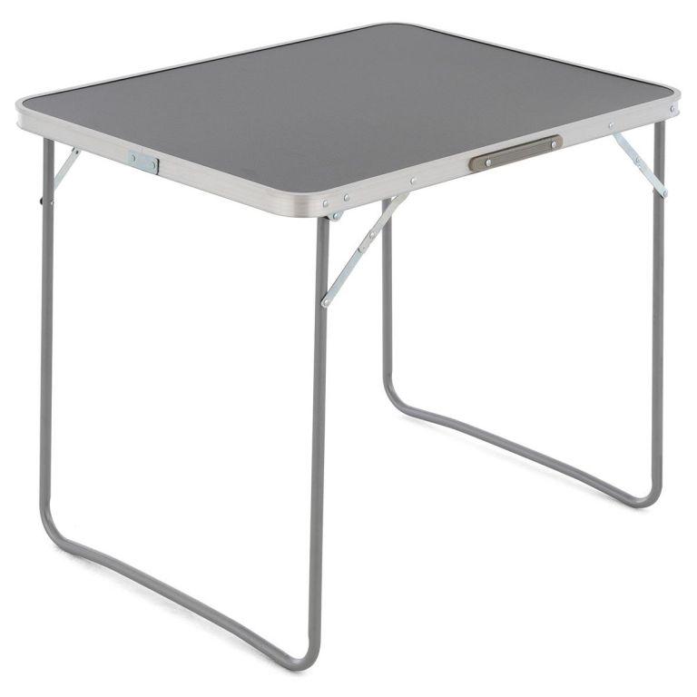 Sklopný kufříkový stolek - antracit