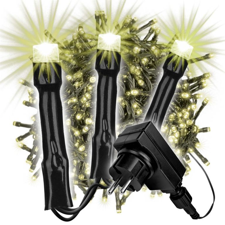 Světelný řetěz - 500 LED, teplá bílá