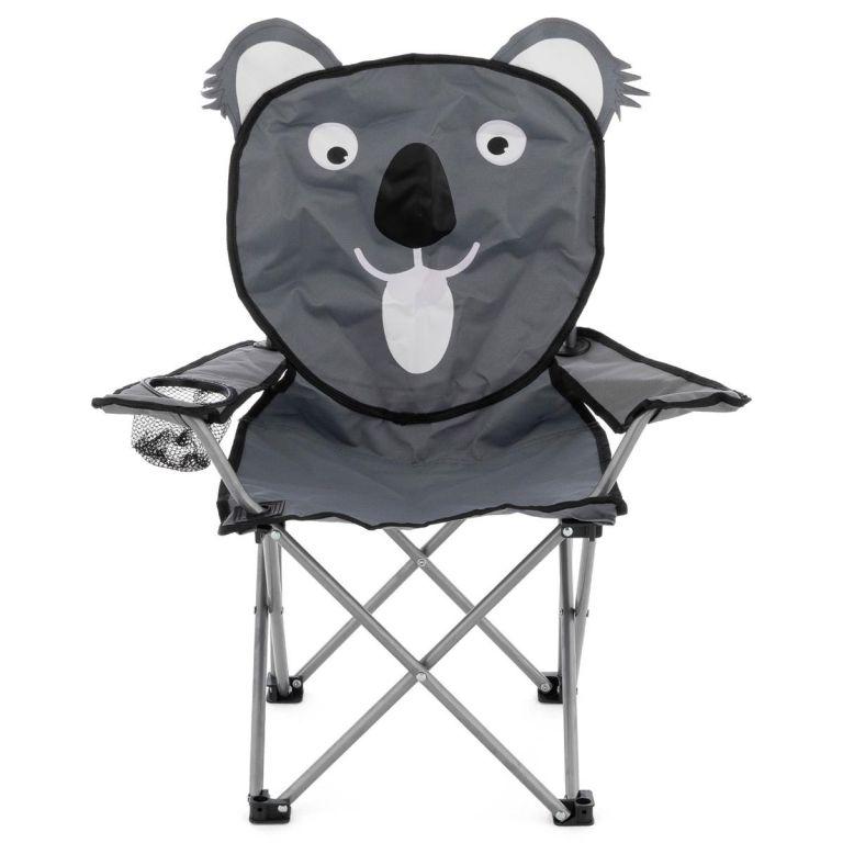 Dětská skládací kempingová židle - motiv koala