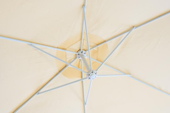 Slunečník Gardenay boční-béžový 3 m