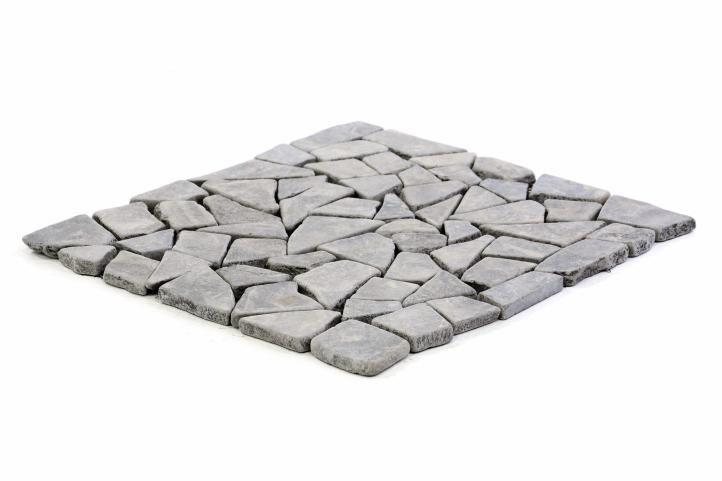 Mramorová mozaika Garth- šedá, obklady 1 m2