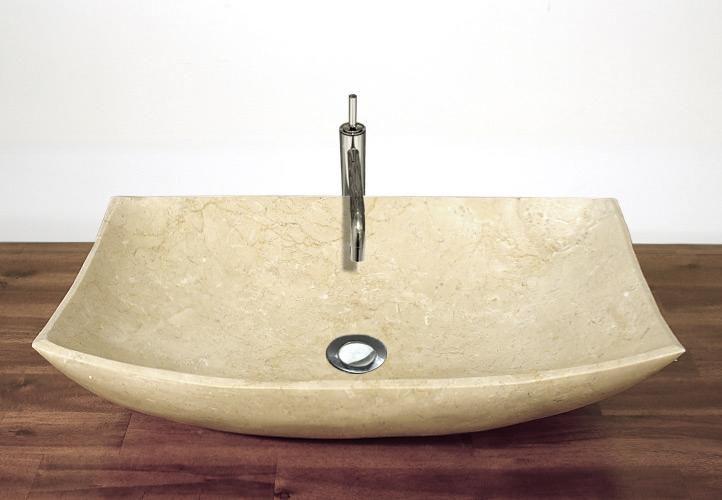 Divero 795 Kamenné umyvadlo - leštěný mramor