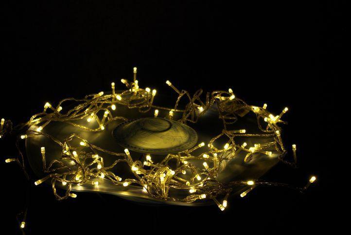 Vánoční LED osvětlení Garth 10m - teple bílé, 100 diod