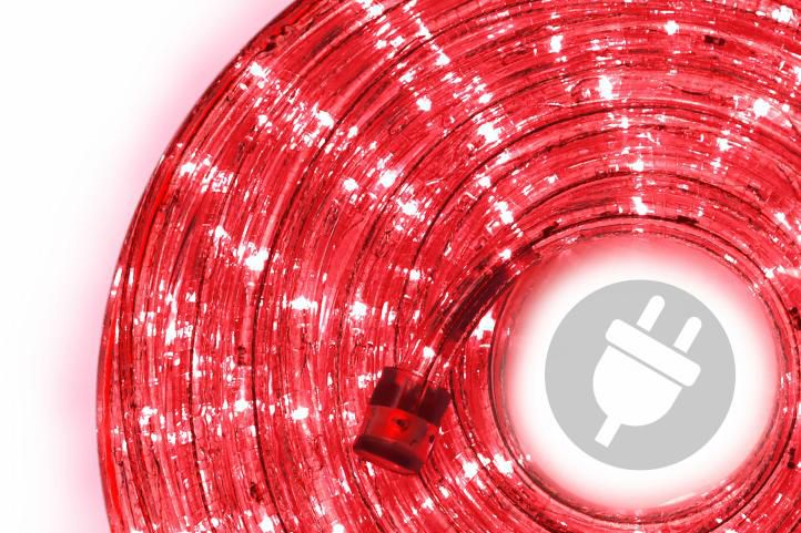 OEM D00822 LED osvětlení červené, 20 m