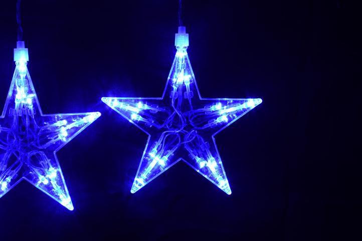 Vánoční osvětlení  100 LED   hvězdy