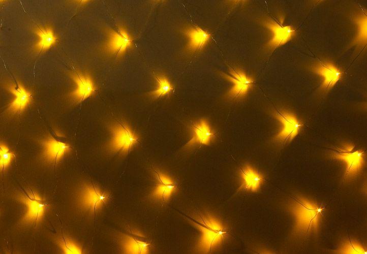 Vánoční LED světelná síť 1,8 x 2,3 m - teple bílá, 320 diod