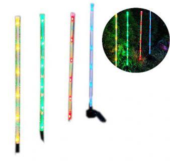 Garthen 4x LED světelná sada - barevné tyčky