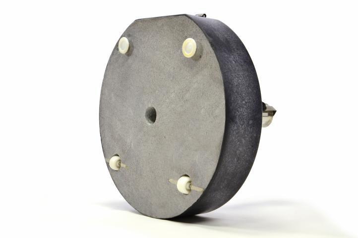 Masivní stojan na slunečníky 60 kg - žula/ocel