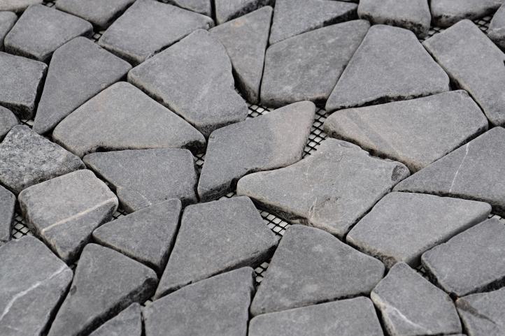 Mramorová mozaika Garth - šedá obklady 1 ks