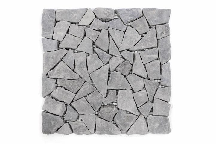 Mramorová mozaika Garth - šedá, obklady 1 ks