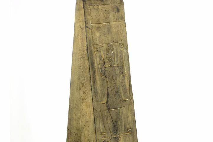 Komoda - skříňka ve tvaru pyramidy 100 cm hnědá