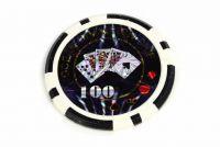 Garthen Ocean Kusový žeton Hodnota 100 - 50 ks