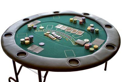 Profesionální rozkládací pokerový stůl