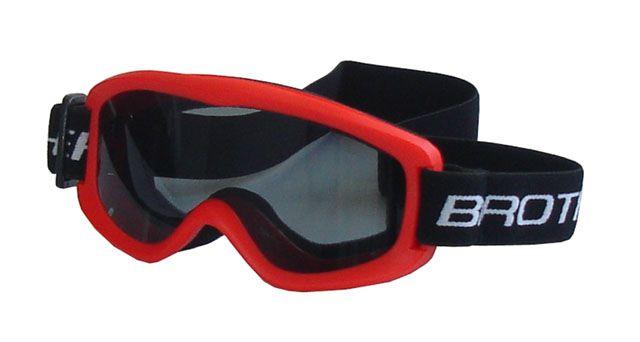 Lyžařské brýle DĚTSKÉ – červené