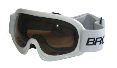 Lyžařské brýle DĚTSKÉ - bílé