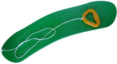 Snowboard dětský plastový - zelený