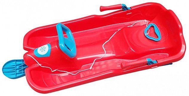 Acra Skibob s volantem A2035/1 červený