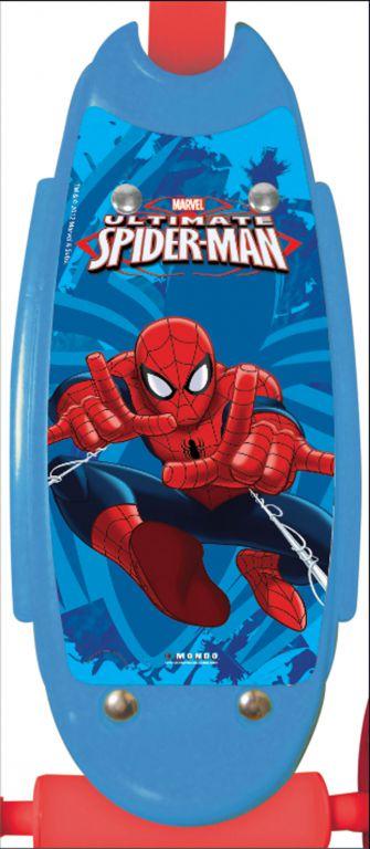 Koloběžka dětská 3 kolečka - Spiderman