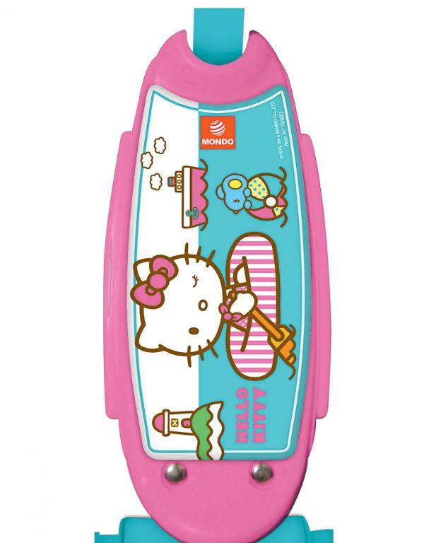 Mondo 18276 koloběžka dětská 3 kolečka - Hello Kitty