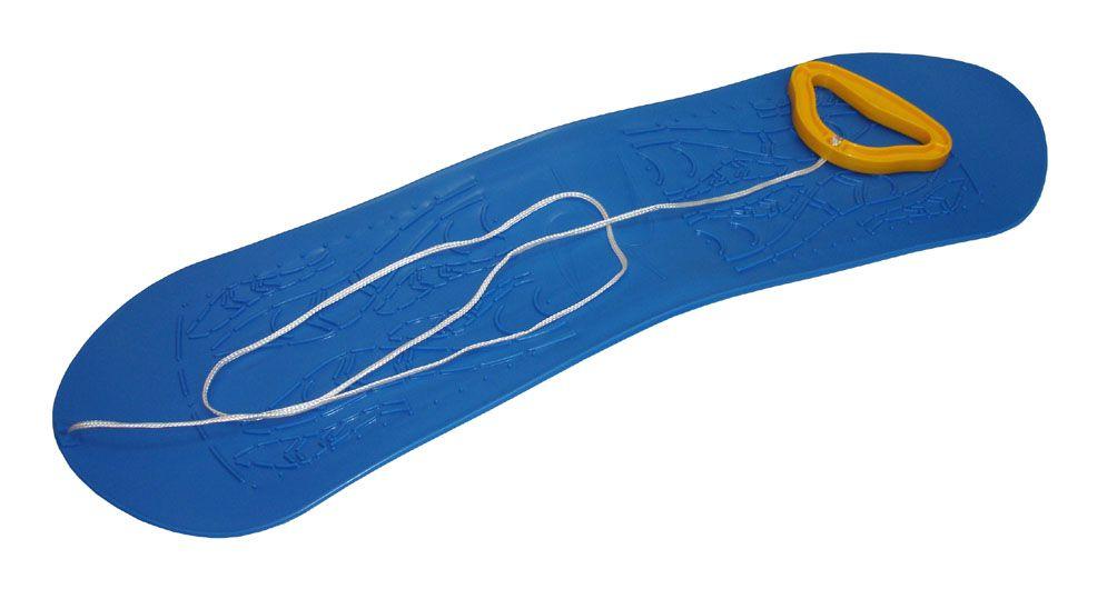 Snowboard dětský plastový - modrý