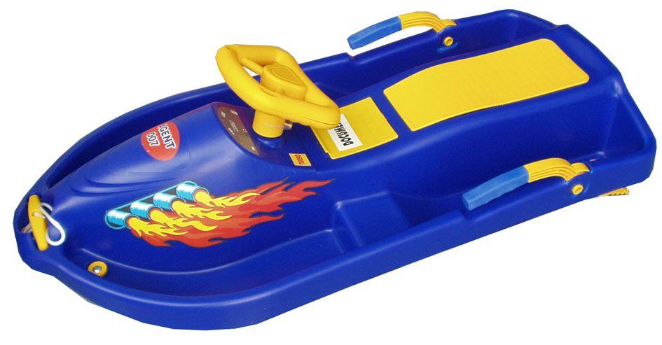 Plastkon Snow Boat modrý
