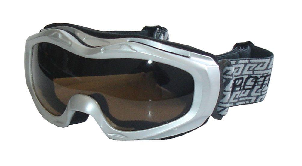 Lyžařské brýle BROTHER JUNIOR B112 - stříbrné