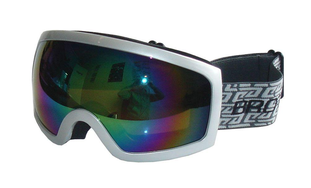 BROTHER  lyžařské brýle - stříbrné