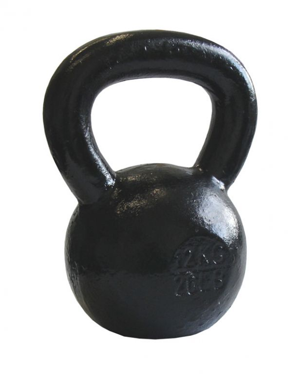 Acra Kettlebell kovový 32 kg