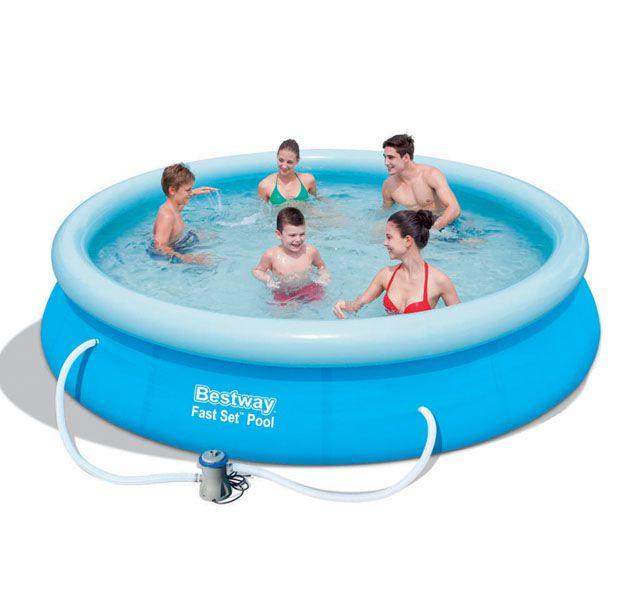Bazén samostavěcí 366 x 76 s filtrem