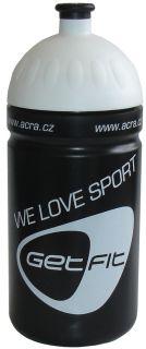 CorbySport Sportovní láhev 0,5L černá