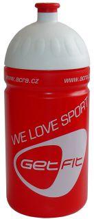 CorbySport Sportovní láhev 0,5L červená