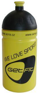 CorbySport Sportovní láhev 0,5L žlutá