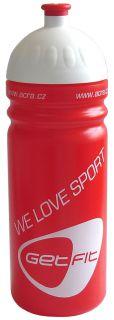 CorbySport Sportovní láhev 0,7L červená