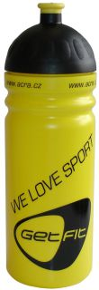 CorbySport Sportovní láhev 0,7L žlutá