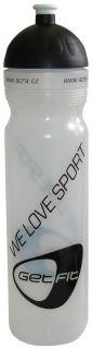 CorbySport Sportovní láhev 1L bílá