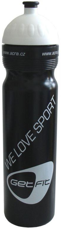 Sportovní láhev 1L černá
