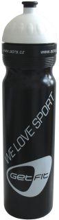 CorbySport Sportovní láhev 1L černá