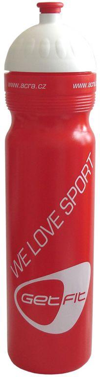 Sportovní láhev 1L červená