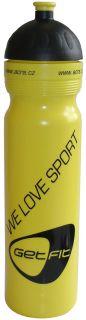 CorbySport Sportovní láhev 1L žlutá