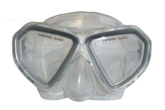Brýle potápěčské dětské šedé BROTHER