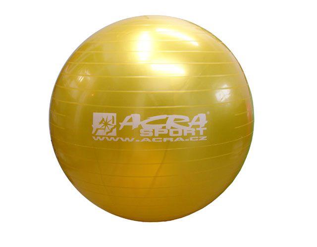 Gymnastický míč 650 mm žlutý