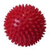CorbySport Míček masážní průměr 7,5 cm červený