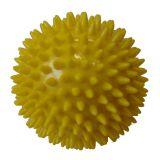 CorbySport Míček masážní průměr 7,5 cm žlutý